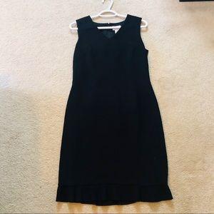 Ann Taylor Loft Black Sleeveless Dress